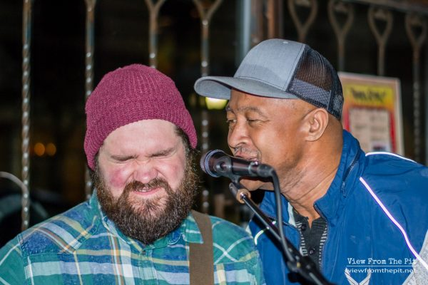 JHaus performing at Coastal Kitchen with Tyrone Parris