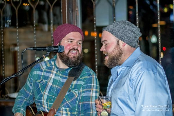 JHaus and Mike performing at Coastal Kitchen