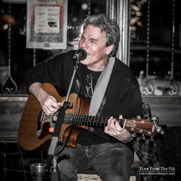 Timmy Walsh of Runnin Loose performing at Coastal Kitchen