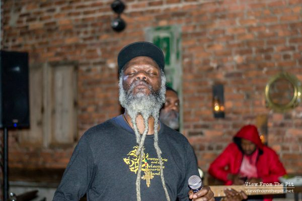 Winston Irie performing at Coastal Kitchen