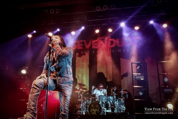 Lajon Witherspoon of Sevendust